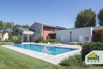 Modello Casa in Legno Casa Malavasi di Wolf Haus