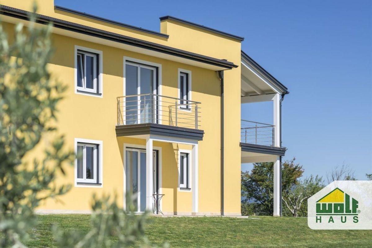 Casa in legno modello casa monte oliveto di wolf haus for Haus case in legno