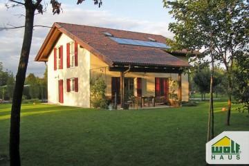 Modello Casa in Legno Casa Bordin di Wolf Haus
