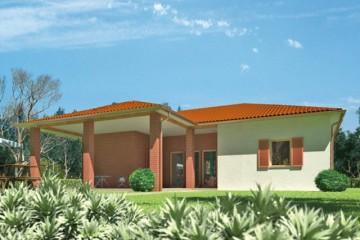 Casa in legno modello casa zorneding di design haus italia - Casa modulare prefabbricata ...