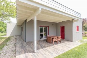 Realizzazione Casa in Legno Casa in legno moderna di Libianchi