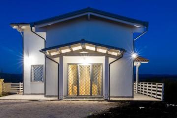 Realizzazione Casa in Legno Residenza Claudia di Libianchi