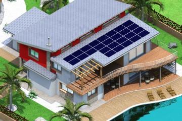 Modello Casa in Legno Futura di EcoLive srl