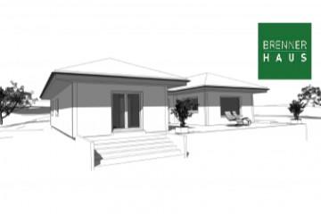 Modello Casa in Legno Villetta 166 di Brennerhaus