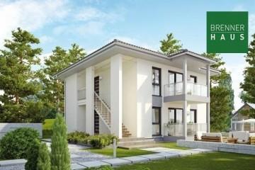 Modello Casa in Legno Villa bifamiliare 2x87 - 173 di Brennerhaus