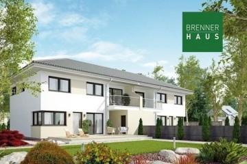 Modello Casa in Legno Villa bifamiliare 2x163 di Brennerhaus