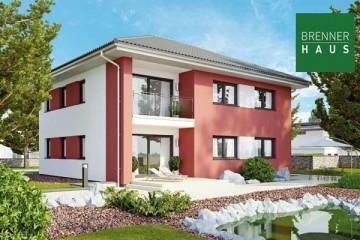 Modello Casa in Legno Villa bifamiliare 2x117 - 234 di Brennerhaus