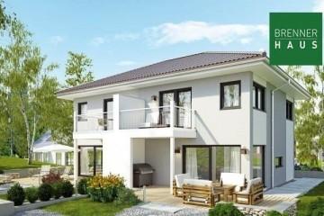 Modello Casa in Legno Villa bifamiliare 2x117 di Brennerhaus
