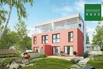 Modello Casa in Legno Villa bifamiliare 2x144 con 3. piano di Brennerhaus