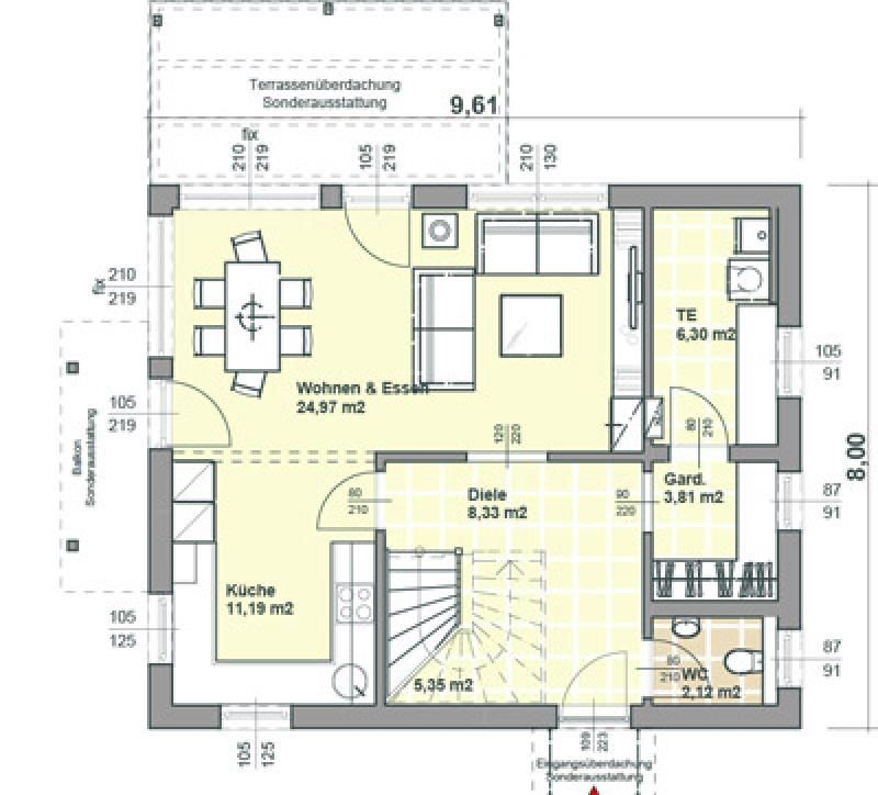 Case in legno Brennerhaus Villa 154