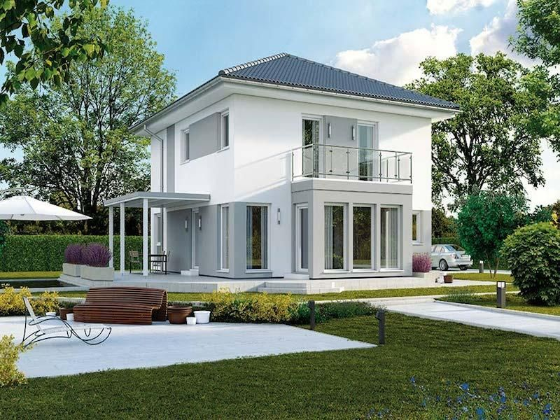 Case in legno Brennerhaus Living 145