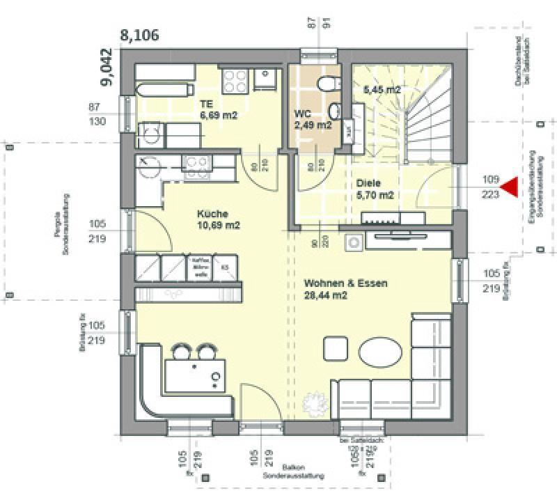 Case in legno Brennerhaus Villa 141