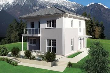 Realizzazione Case in Legno Comfort 155 di Brennerhaus
