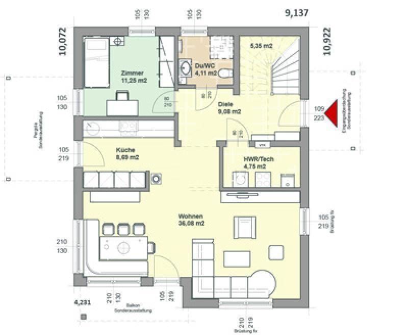 Case in legno Brennerhaus Villa 193
