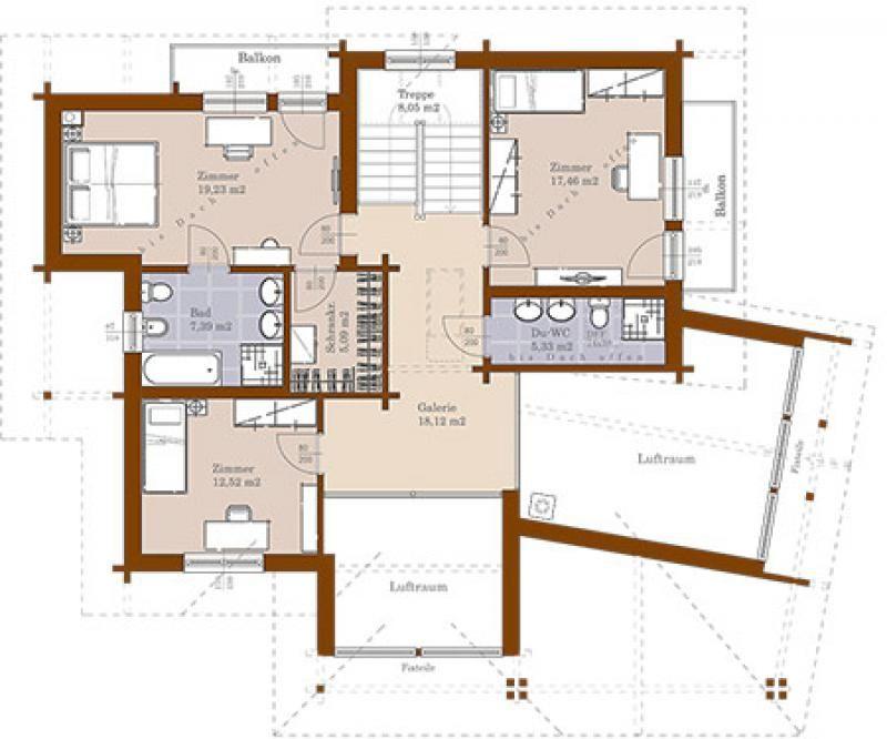 Case in legno Brennerhaus Blockhaus 275