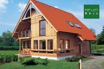 Modello Casa in Legno Blockhaus 174 di Brennerhaus