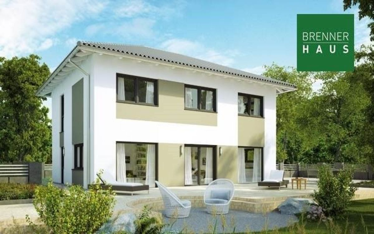 Casa in legno modello villa 194 di brennerhaus for Costruttore di case virtuali