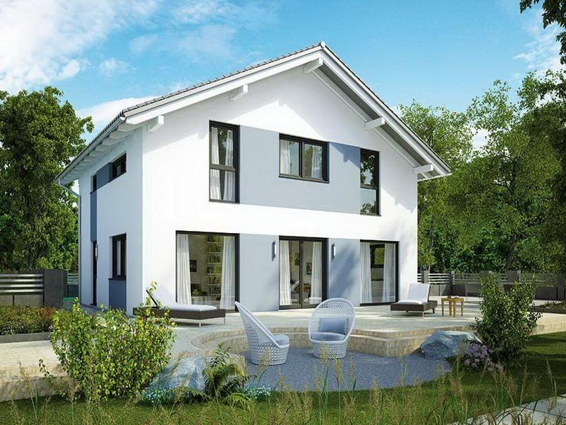casa in legno modello villa 194 di brennerhaus. Black Bedroom Furniture Sets. Home Design Ideas
