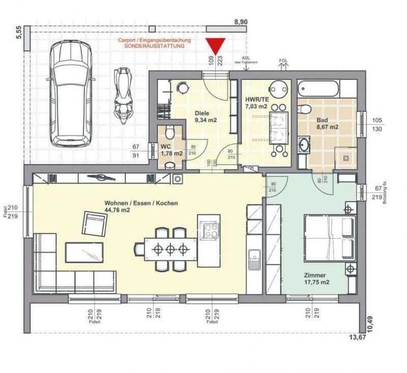 Casa in legno modello villetta 109 di brennerhaus for Modello di casa bungalow