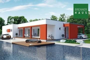 Realizzazione Casa in Legno Villetta 178 di Brennerhaus