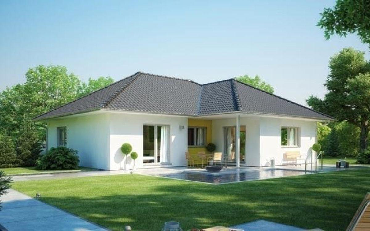 realizzazione casa in legno modello villetta 147a di. Black Bedroom Furniture Sets. Home Design Ideas