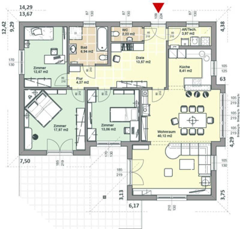 Case in legno Brennerhaus Villetta 147a