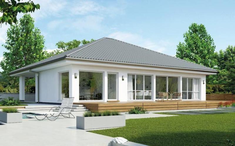 casa in legno modello villetta 173 di brennerhaus. Black Bedroom Furniture Sets. Home Design Ideas