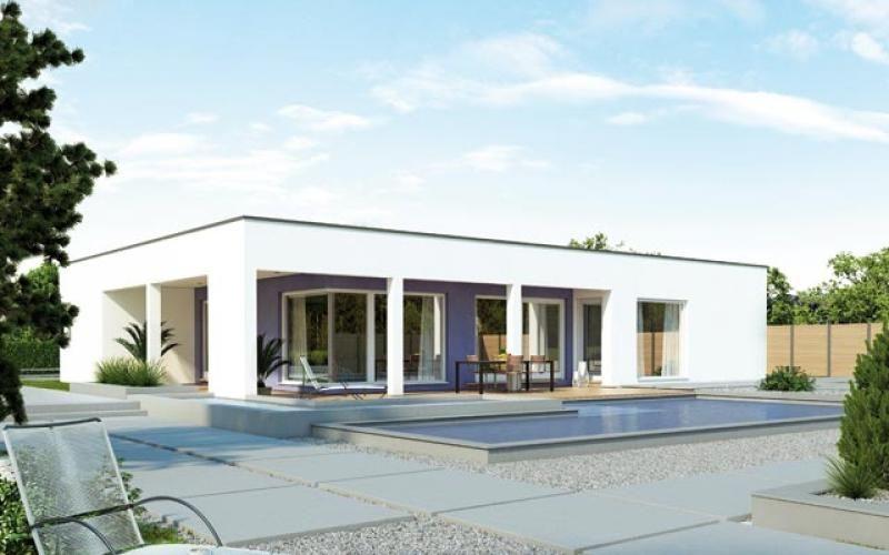 Casa in legno modello villetta 189 di brennerhaus for Modello di casa bungalow