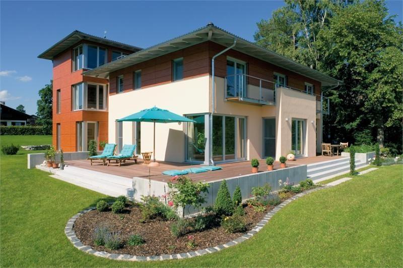 Casa in legno modello casa julia di design haus italia for Case in legno italia