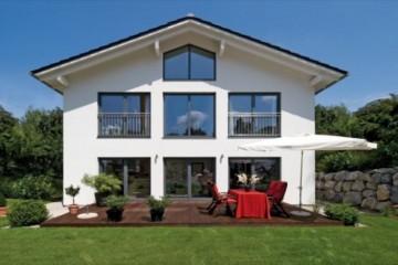 Realizzazione Case in Legno Casa Zorneding di Design Haus Italia