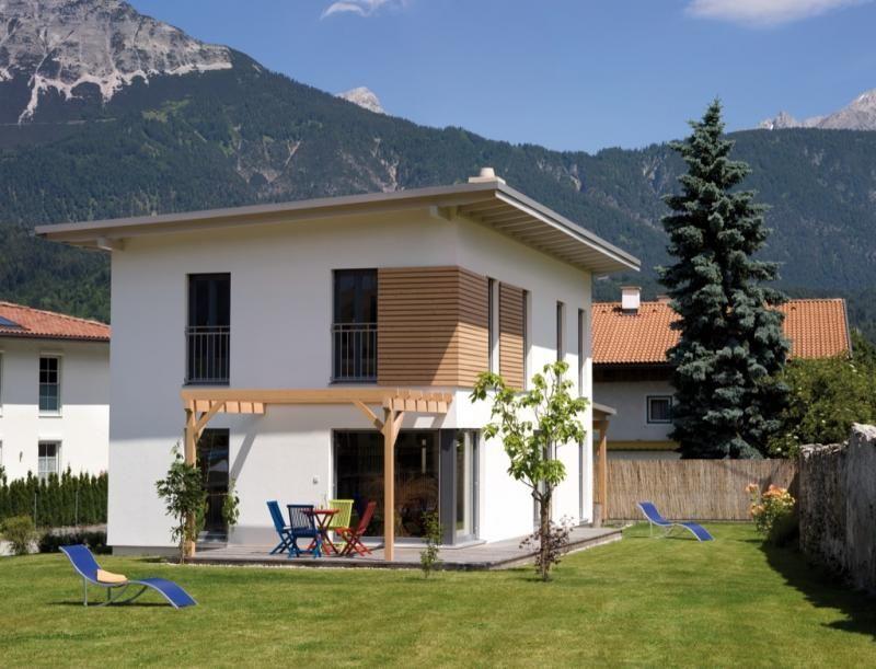 Casa in legno modello casa volders di design haus italia for Haus case in legno