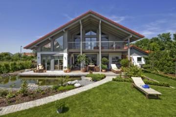 Realizzazione Casa in Legno Casa Landshut di Design Haus Italia