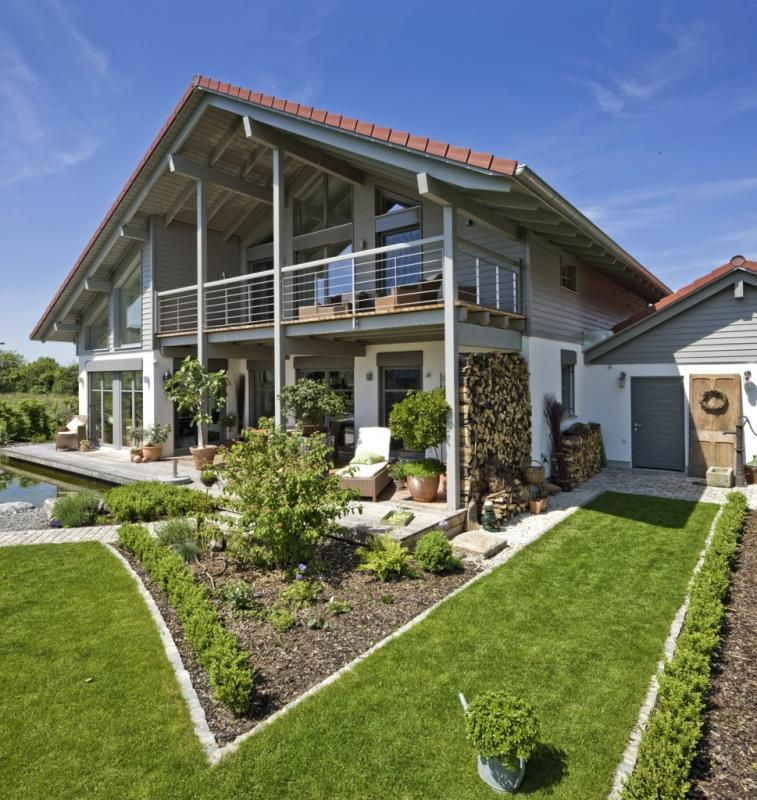 Case in legno Design Haus Italia Casa Landshut