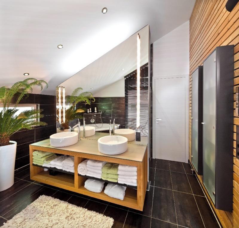 Casa in legno modello casa mira di design haus italia for Case in legno italia