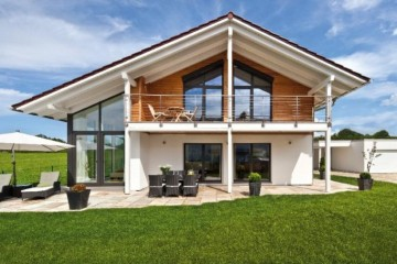 Realizzazione Casa in Legno Casa Mira di Design Haus Italia