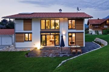Realizzazione Casa in Legno Casa Bayrgamin di Design Haus Italia