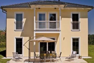 Realizzazione Casa in Legno Casa Stadvilla di Design Haus Italia