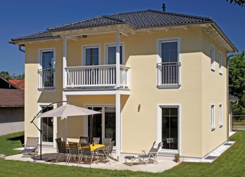 Casa in legno modello casa stadvilla di design haus italia for Case in legno italia