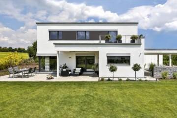 Realizzazione Casa in Legno Casa Schwabach di Design Haus Italia