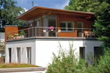 Realizzazione Casa in Legno Casa Herrsching di Design Haus Italia