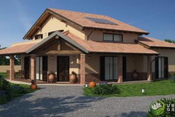 Modello Casa in Legno URB 08 di Urban Green