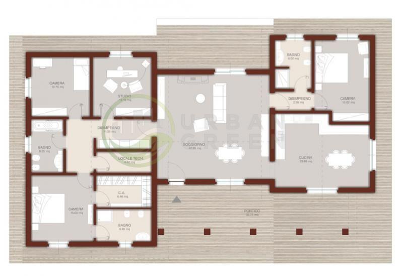 Urb 19 urban green case e villette in legno for Costruttore di case da sogno virtuale