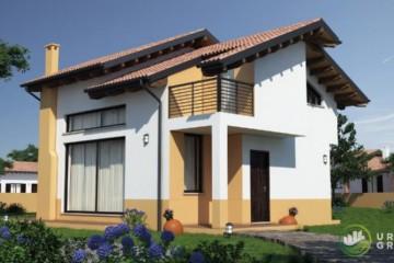 Modello Casa in Legno URB 01 di Urban Green