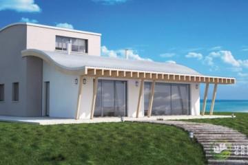 Modello Casa in Legno URB 07 di Urban Green
