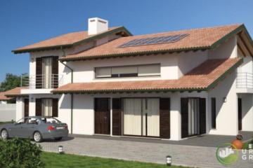 Modello Casa in Legno URB 11 di Urban Green
