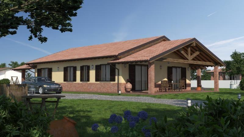Casa in Legno in stile Classico: URB 17