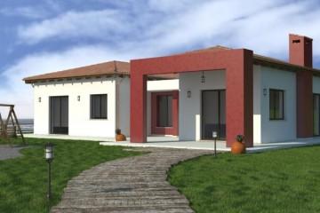 Modello Casa in Legno URB 18 di Urban Green