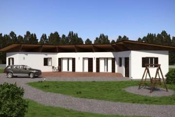 Modello Casa in Legno URB 20 di Urban Green