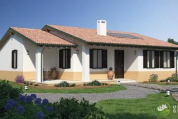 Modello Casa in Legno URB 22 di Urban Green
