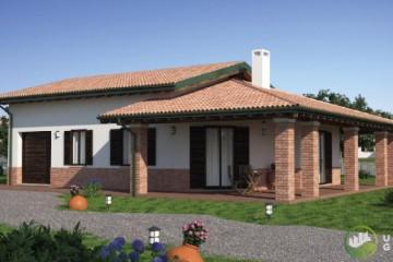 Modello Casa in Legno URB 24 di Urban Green